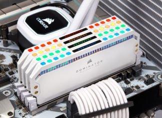 Corsair memory Platinum RGB blanche