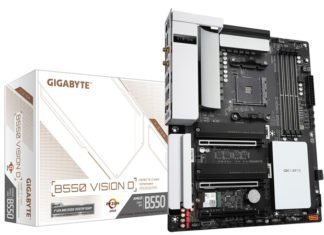 Gigabyte B550 Vision D