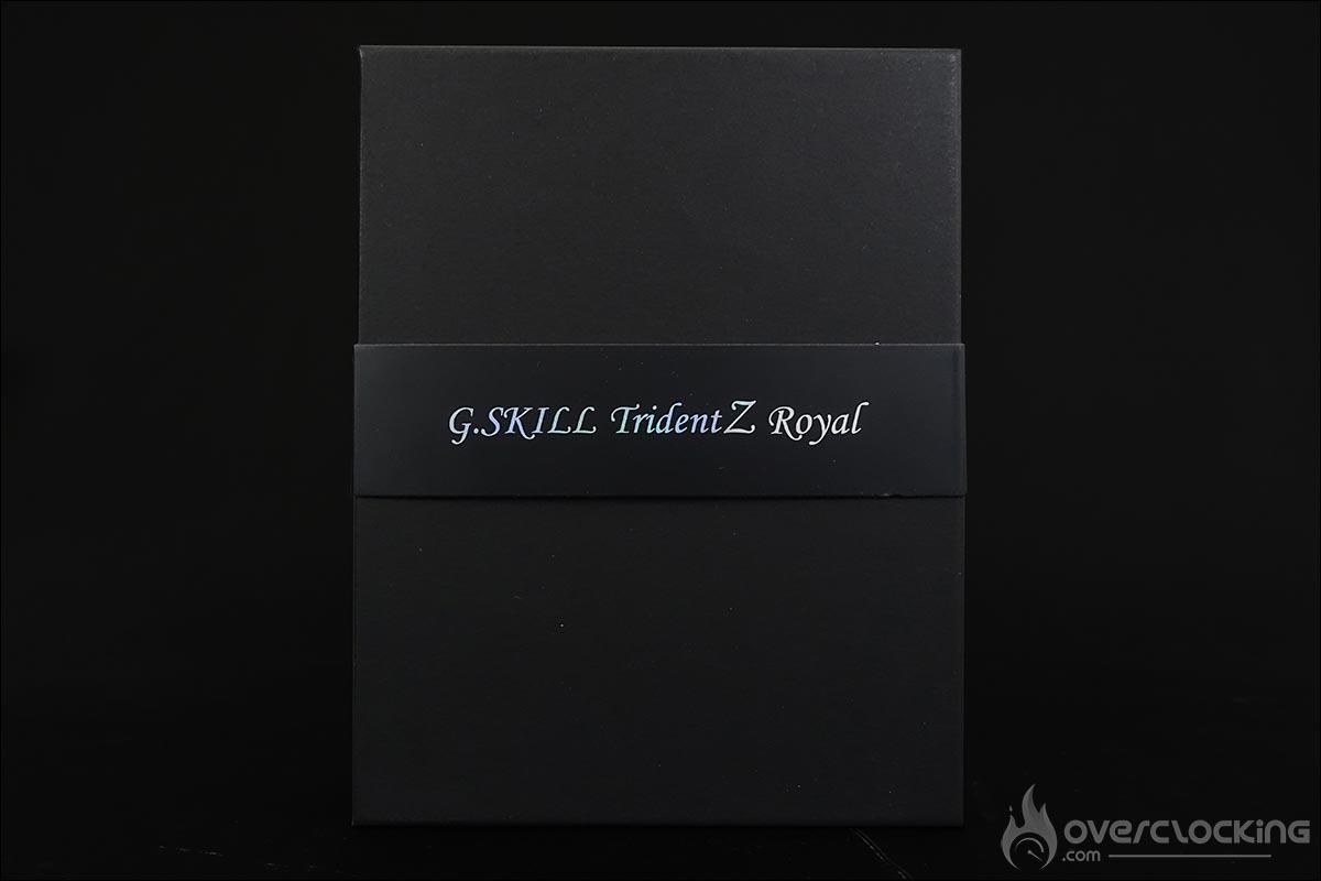 Kit mémoire GSKILL TridentZ Royal 4000 MHz CL18