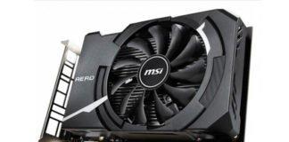 MSI GTX 1650 Aero ITX