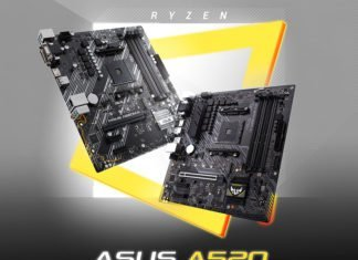 Les cartes mères Asus A520