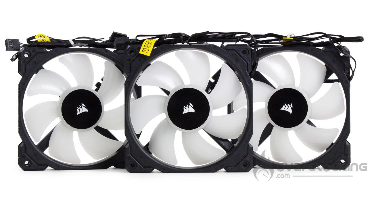 Corsair H150i Elite Capellix ventilateurs