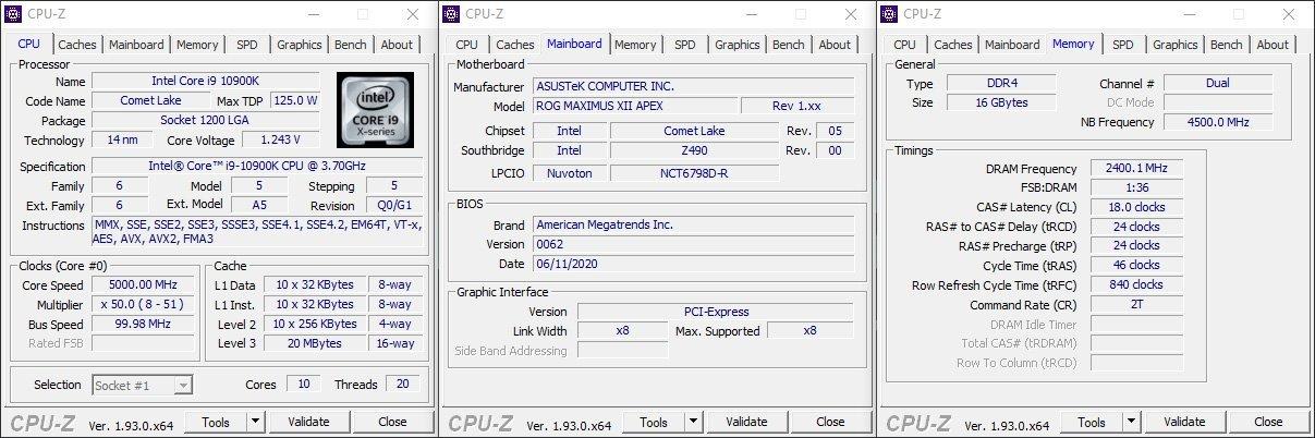 CPUz IntelCorsair 4800 CL18