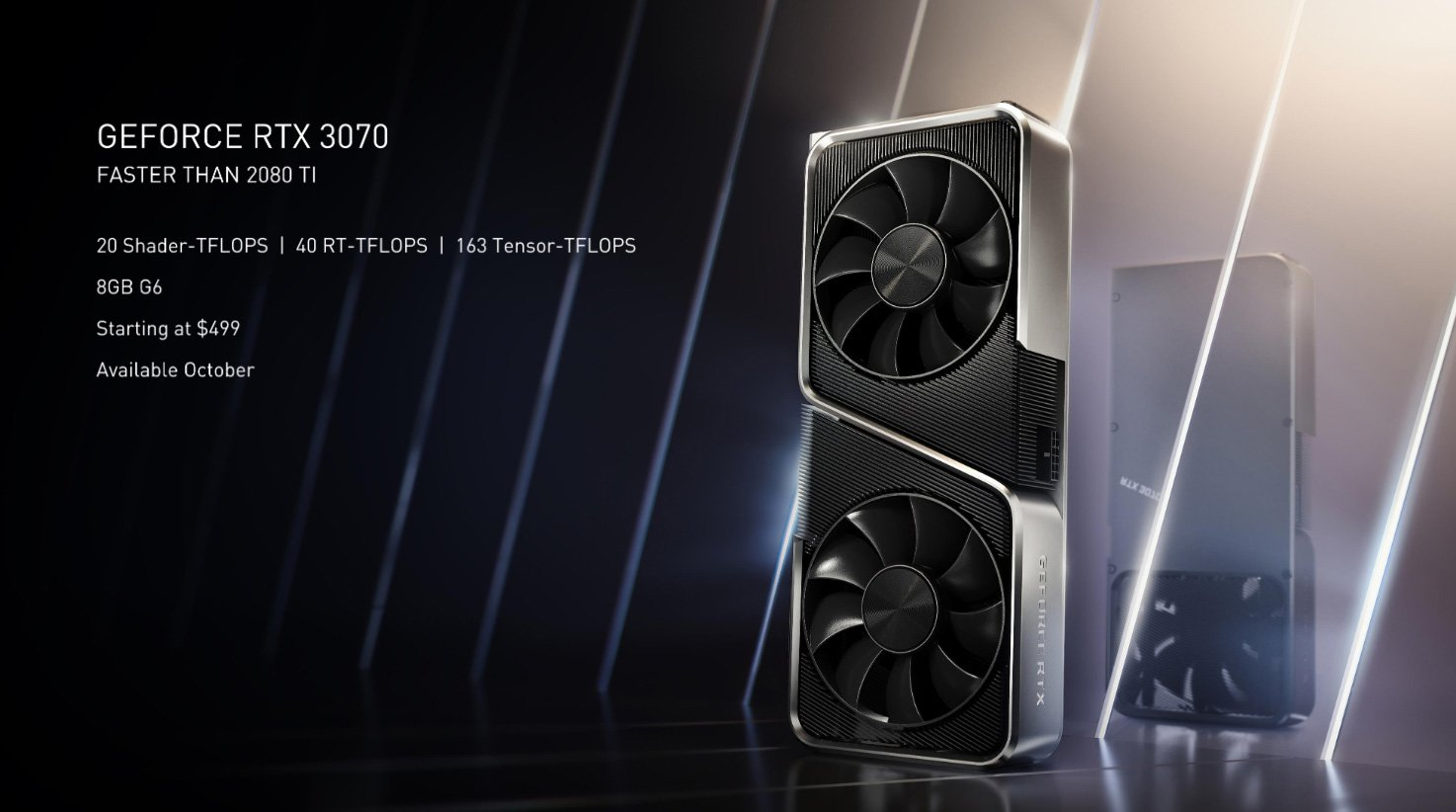 Dossier Nvidia RTX 3070, 3080 et 3090