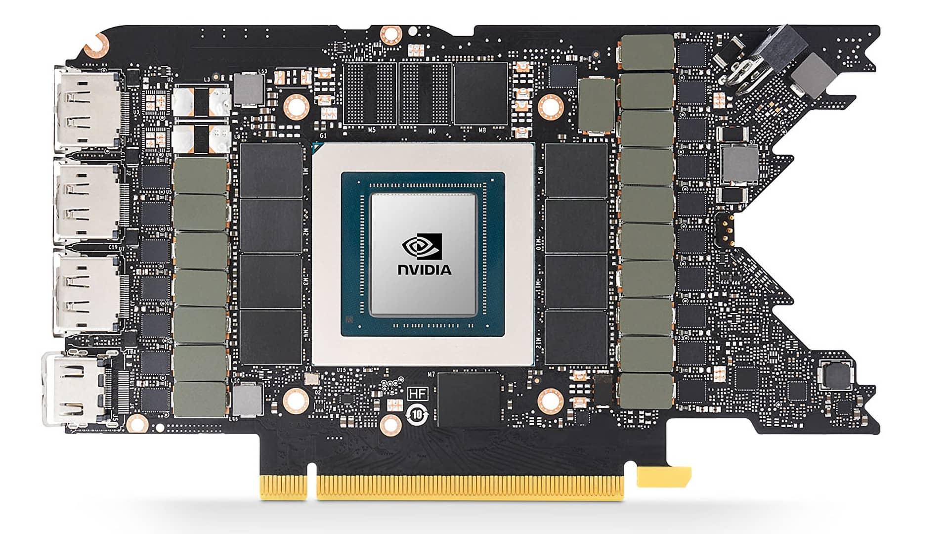 PCB GPU Ampere RTX 3080 FE