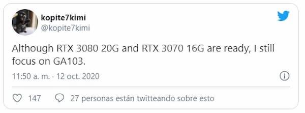 RTX 3080 20g