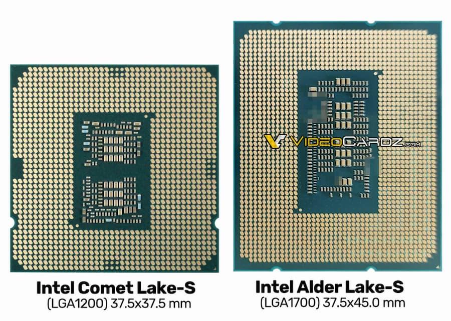 Intel Alder Lake-S LGA-1700