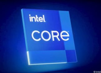 New Intel core logo