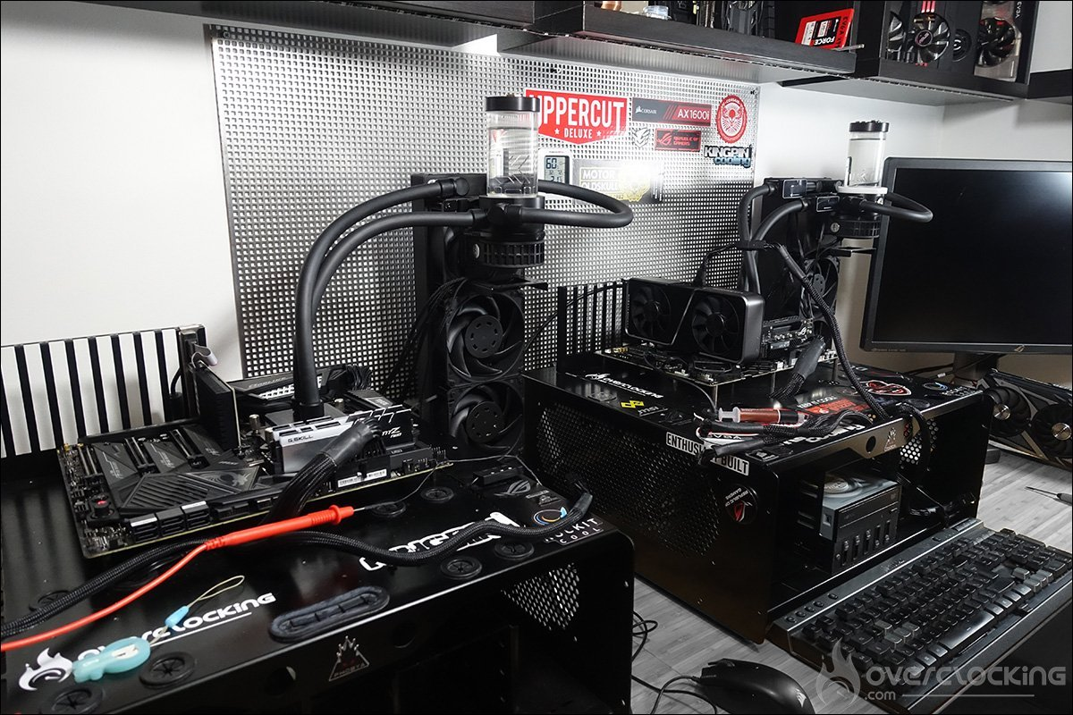 Configuration labo de tests Ryzen 5900X 5800X