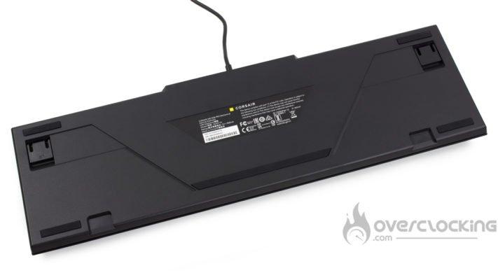 Corsair K60 RGB Pro - Arrière