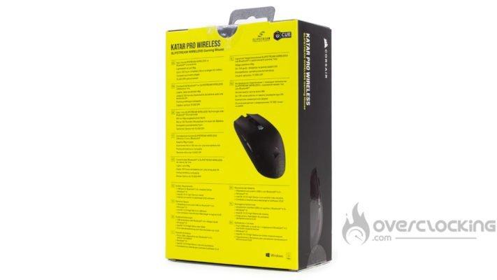 Corsair Katar Pro Wireless - Boîte