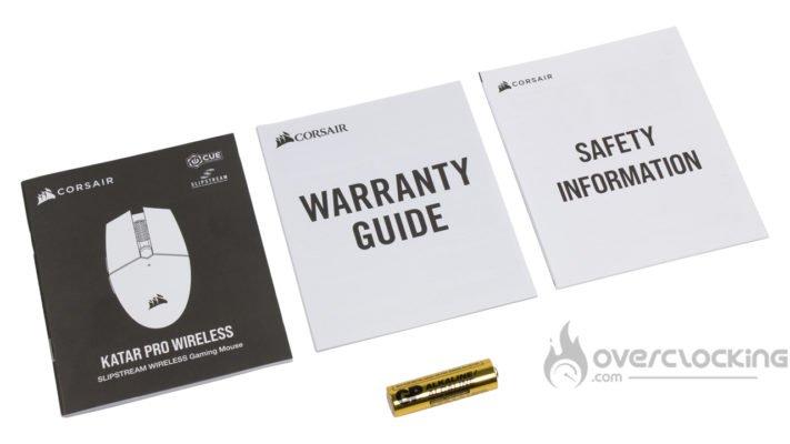 Corsair Katar Pro Wireless - Bundle