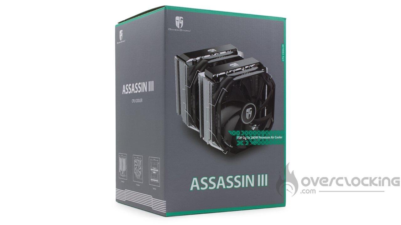 DeepCool Assassin III boîte