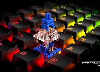 HyperX Bleu switches