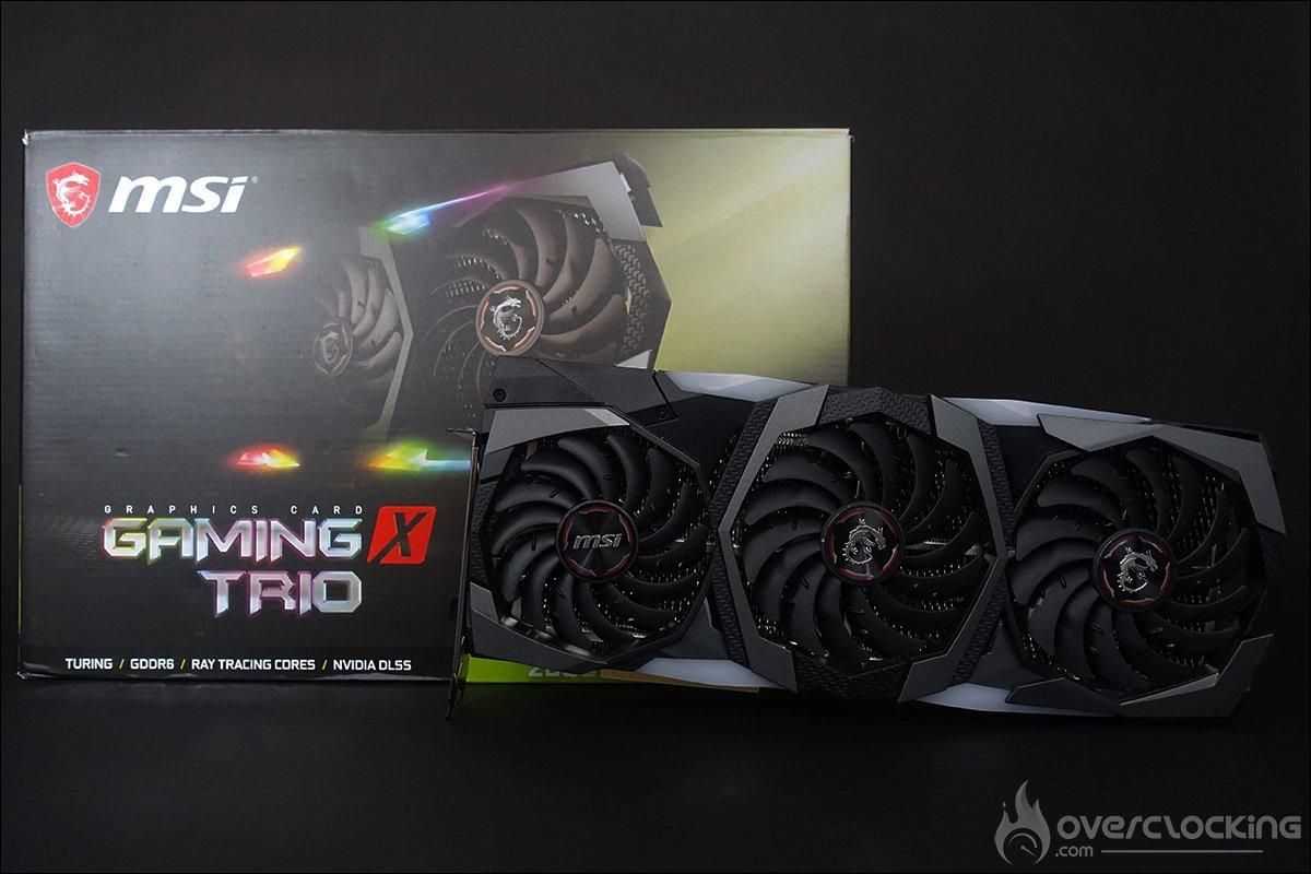 MSI RTX 2080 Super Gaming X Trio