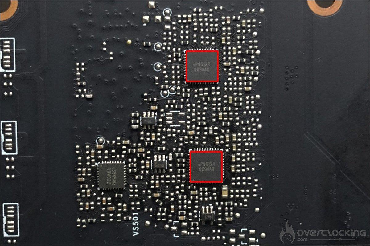 Le PCB de la MSI RTX 3080 Gaming X Trio