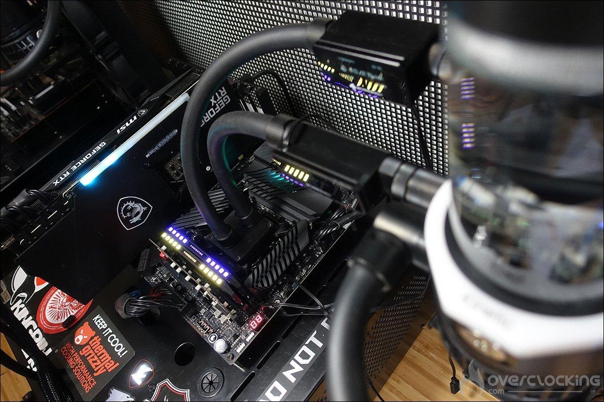 Bench avec la MSI RTX 3080 Gaming X Trio