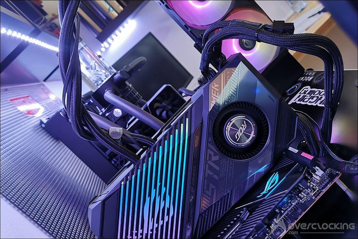 Asus ROG RX 6800 XT LC Strix Gaming OC