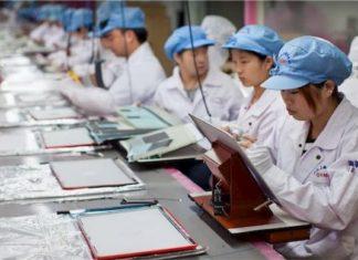 usine assemblage chinoise