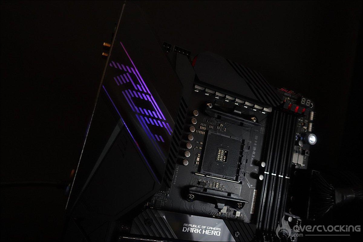 RGB Asus Crosshair VIII Dark Hero
