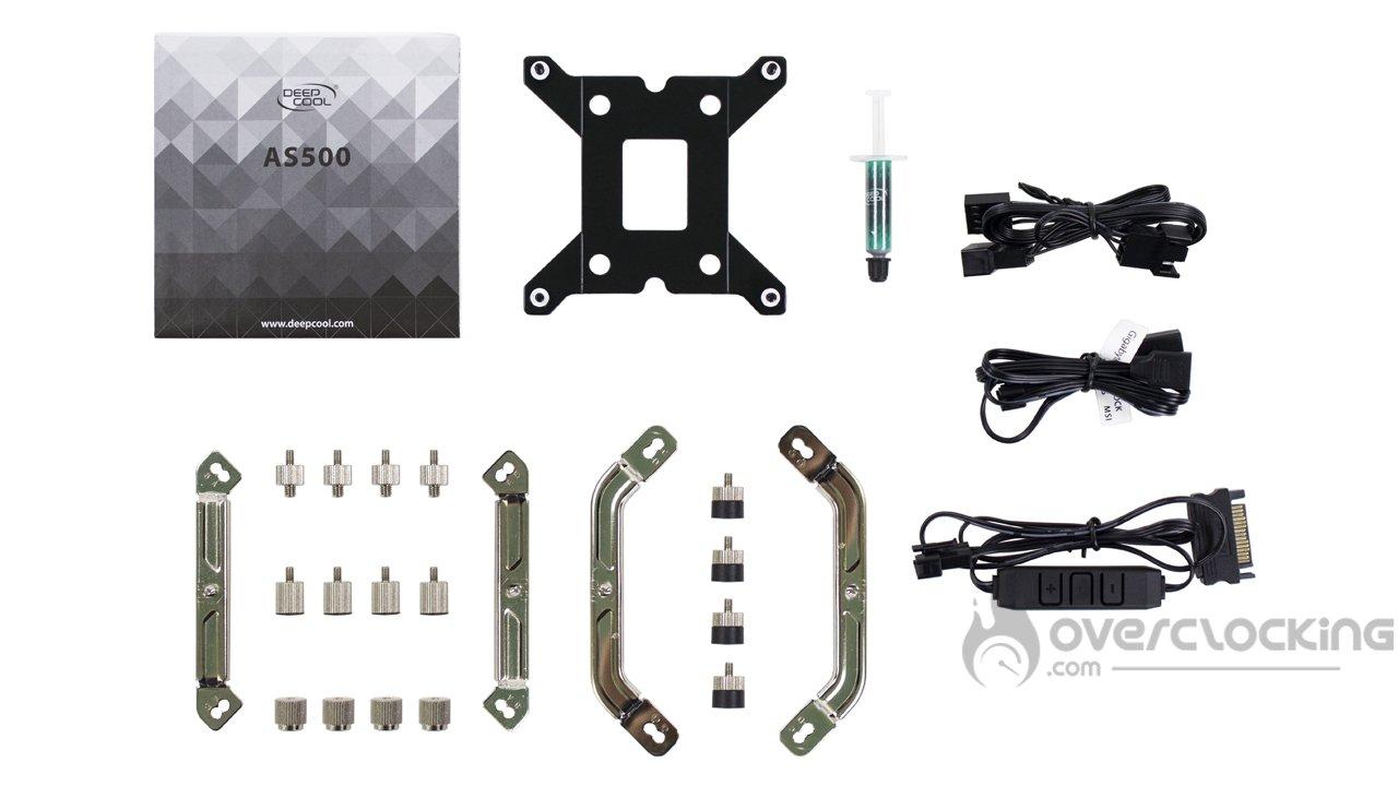 DeepCool AS500 Plus bundle