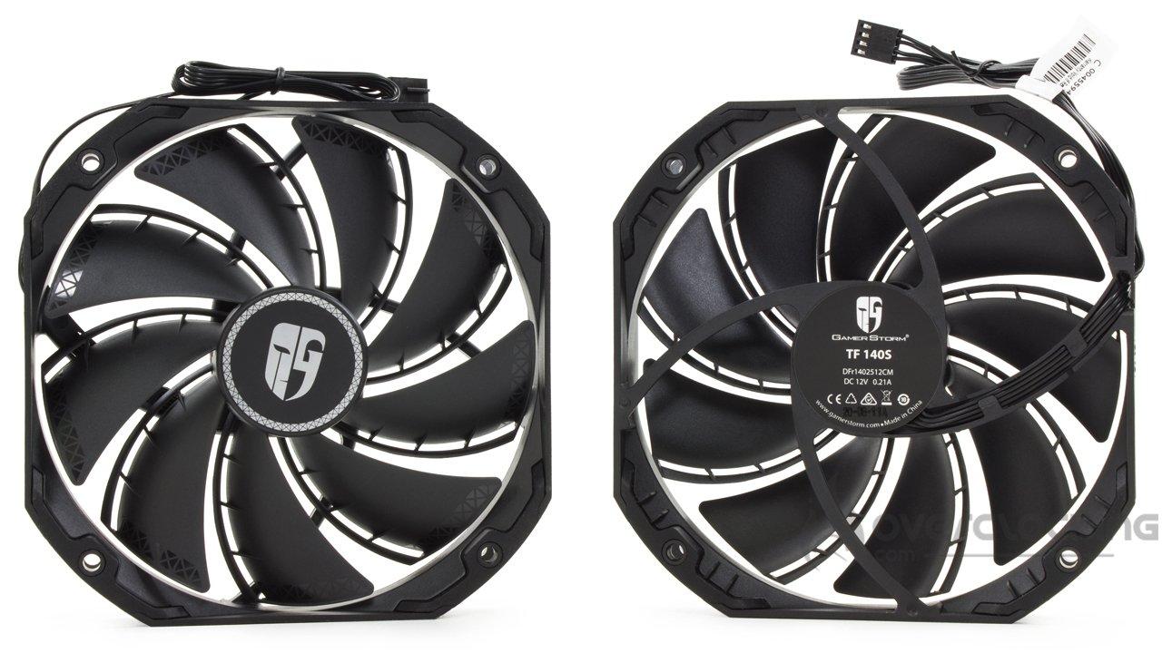 DeepCool AS500 Plus ventilateurs