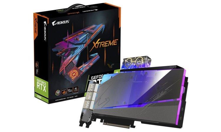 Gigabyte RTX 3000 Xtreme Waterforce WB