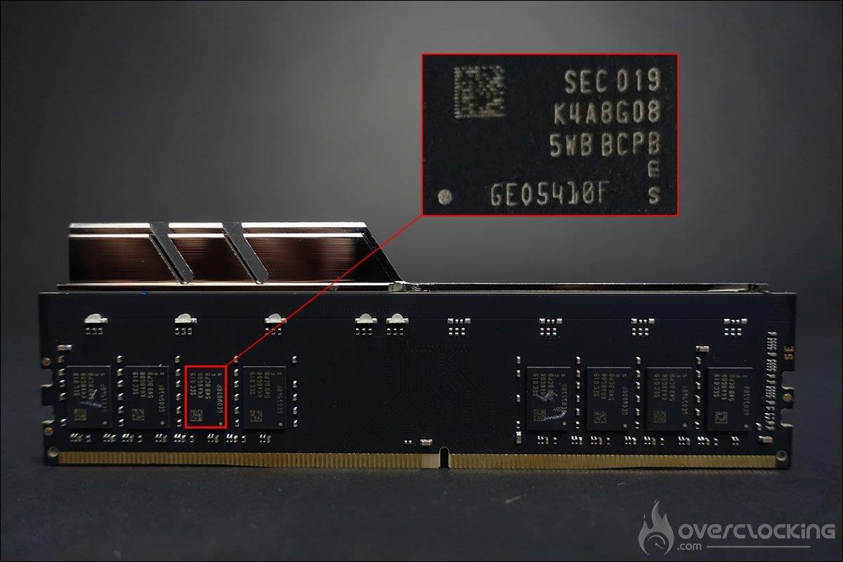 PCB Kit mémoire GSKill TridentZ Royal 4400 CL16