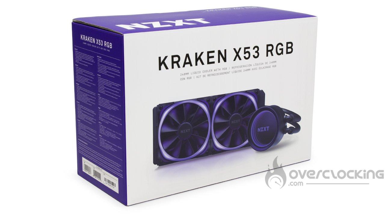 NZXT Kraken X53 RGB boîte