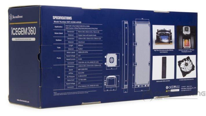 Silverstone IceGem 360 boîte