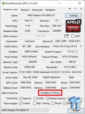 RX 6800XT x2
