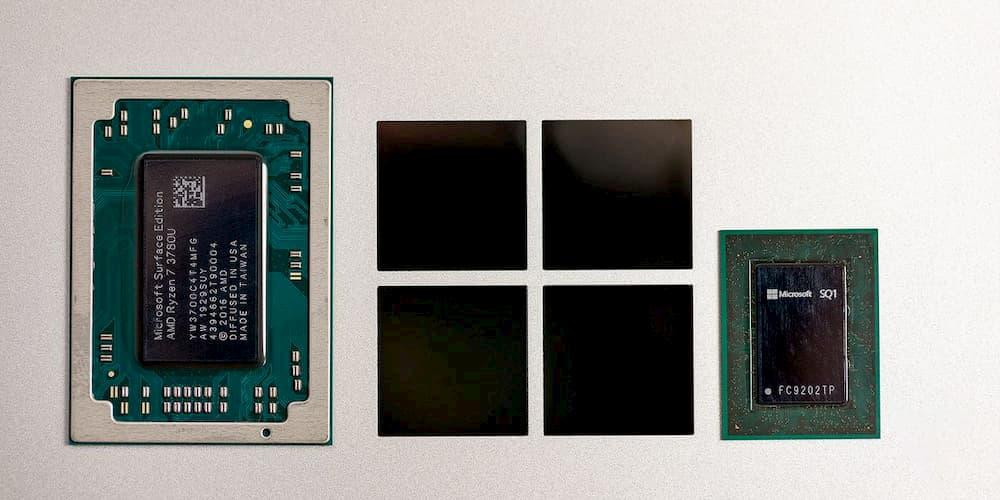 Le SoC ARM Microsoft