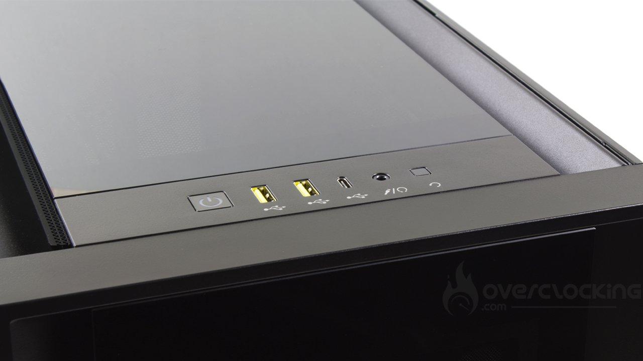 Corsair iCUE 5000X RGB Black panneau de contrôle
