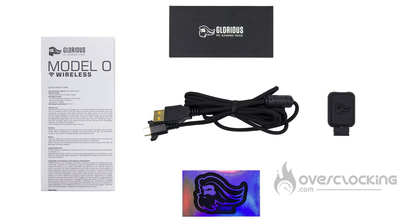 Glorious PC Gaming Race Model O Wireless bundle