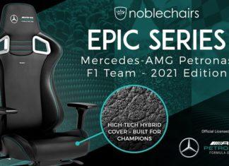 Noblechairs Epic Mercedes-AMG Petronas F1 Team 2021