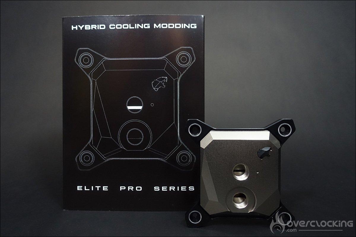 Waterblock CPU Elite Pro Hydrid Cooling