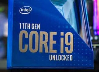 Core i9 1900K Intel