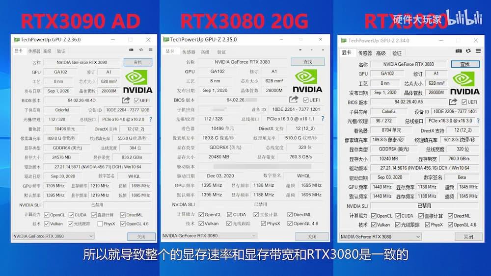 RTX 3080Ti GPU-Z