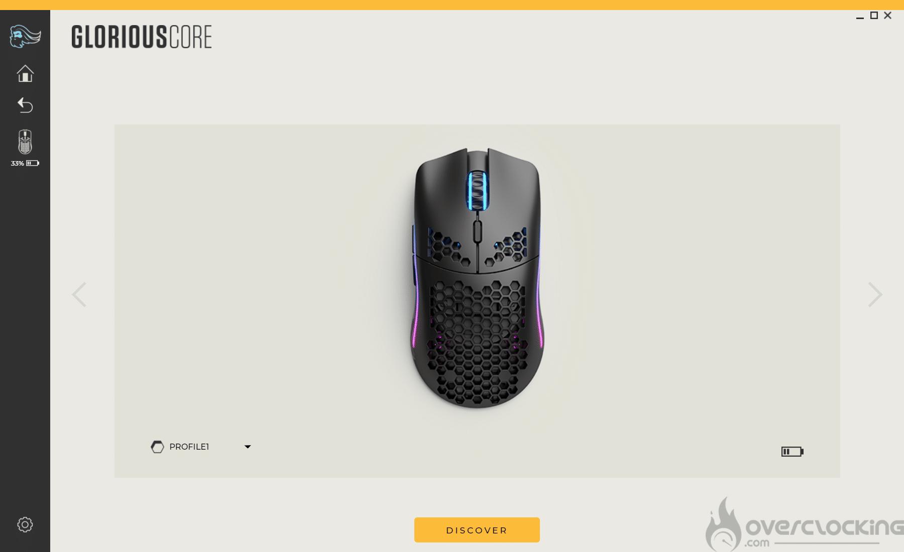 Glorious PC Gaming Race Model O Wireless Glorious Core