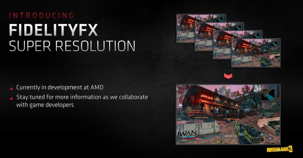 FidelityFX Super Resolution DLSS equiv
