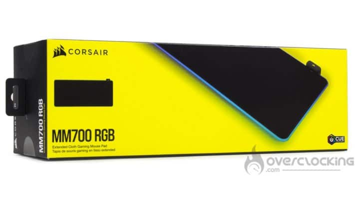 Corsair MM700 RGB - Boîte
