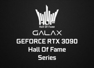 La gamme des GALAX RTX 3090 HOF