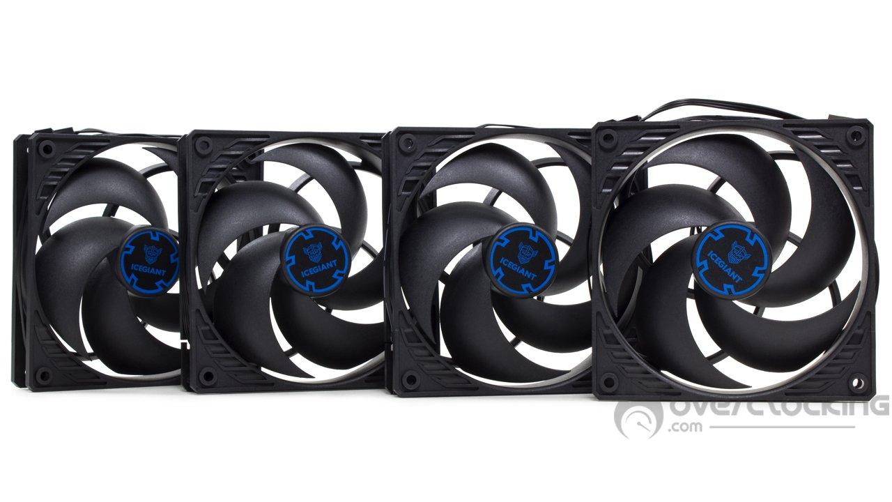 IceGiant ProSiphon Elite ventilateurs