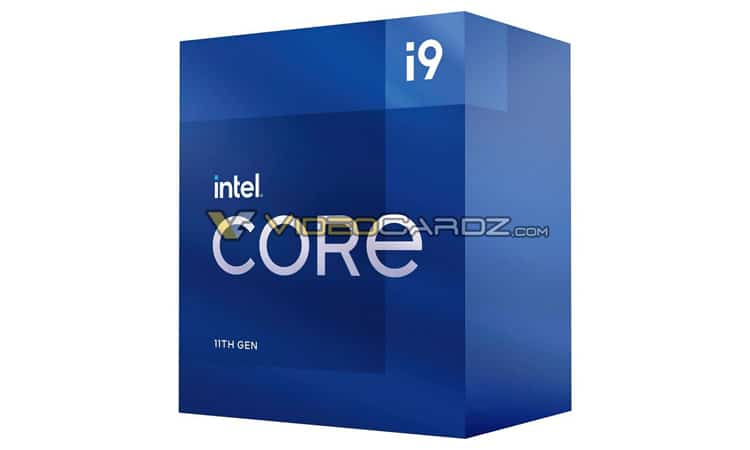 Intel 11e gen - Core i9 11900K