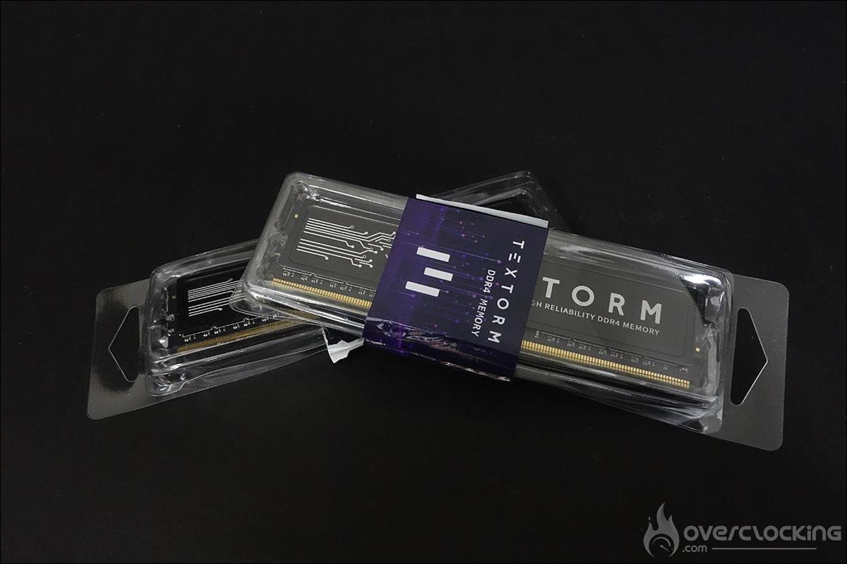 Kit mémoire Textorm 3200 C16