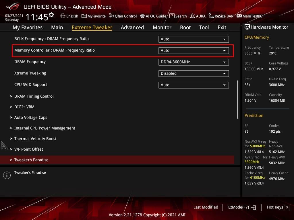 BIOS ROG M13 APEX