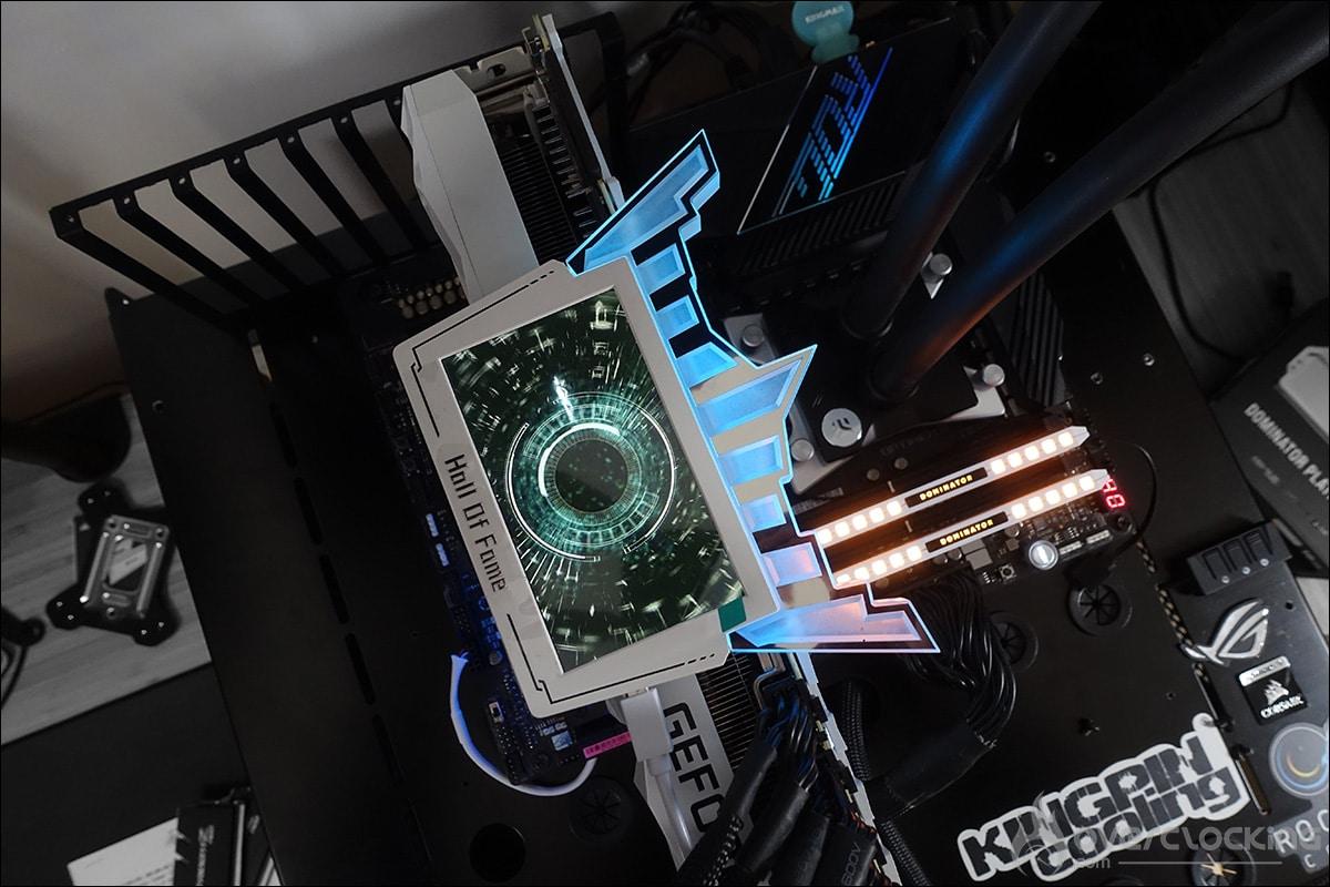 Ecran LCD HOF RTX 3090 HOF