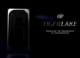 Intel tiger Lake h