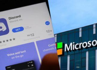 Microsoft Discord rachat