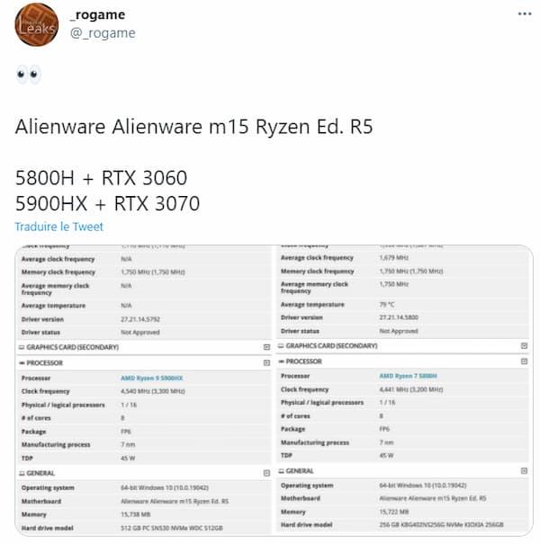 Ryzen 5000 gaming laptop